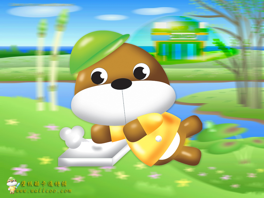 gallery for cute cartoon wallpaper