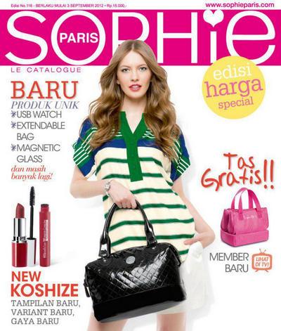 Katalog Baru Sophie Paris Edisi September 2012