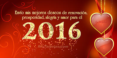 feliz año nuevo 2016 mi amor