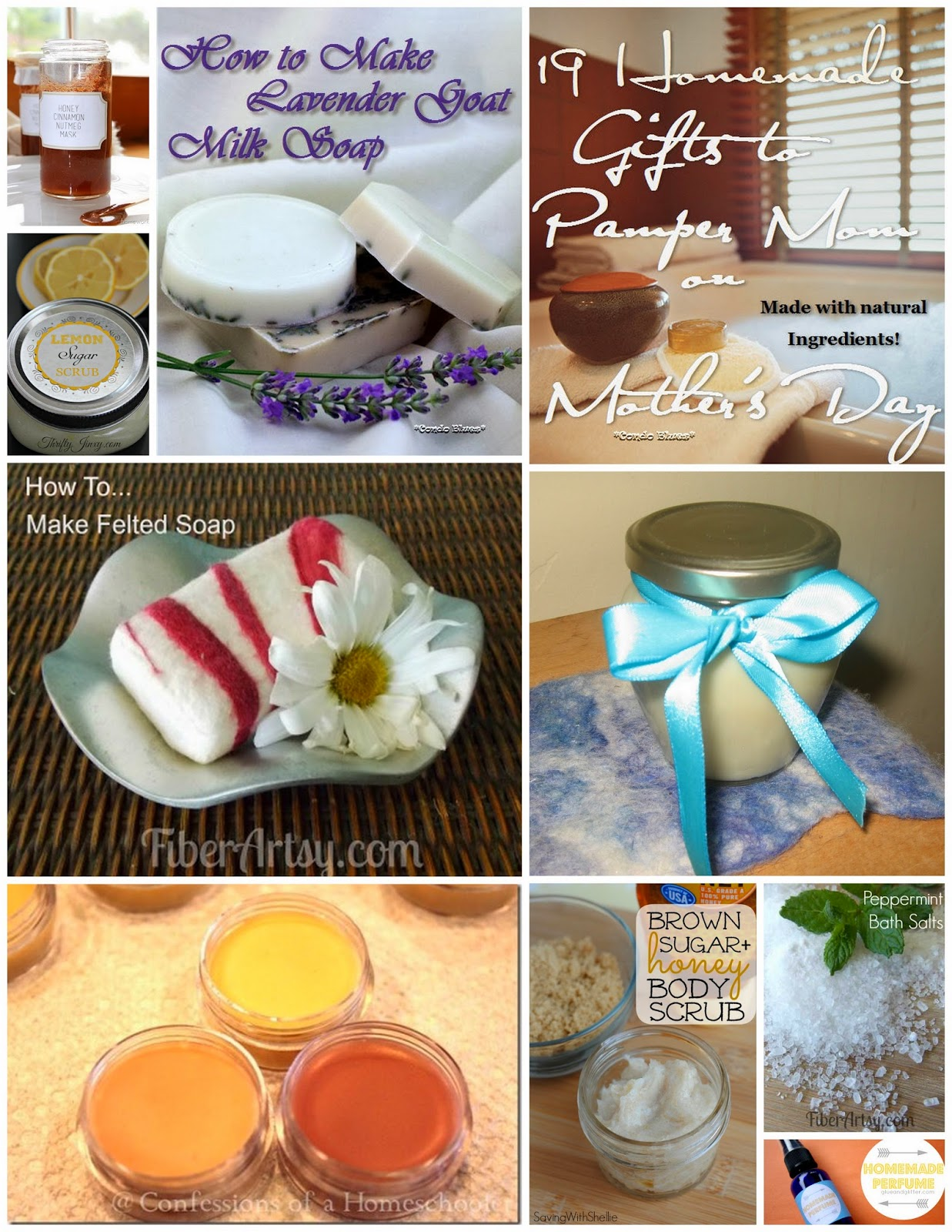 Condo Blues 19 Homemade Gift Ideas To Pamper Mom On