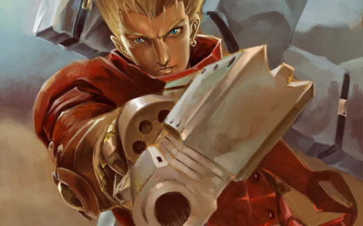 trigun vash the stampede pistol anime hd wallpaper
