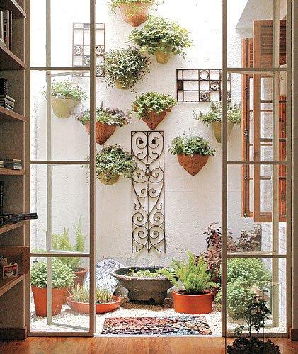 ideias jardins grandes:Pequeno Jardim De Inverno