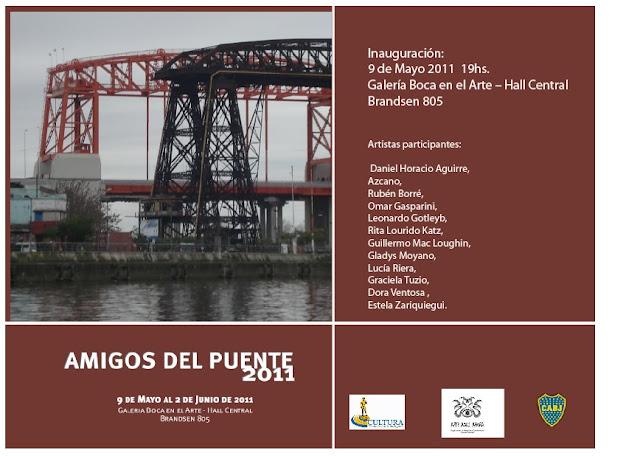 Muestra Amigos del Puente 2011 en BOCARTE