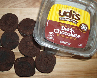 Udis Gluten Free Dark Chocolate Brownies Box