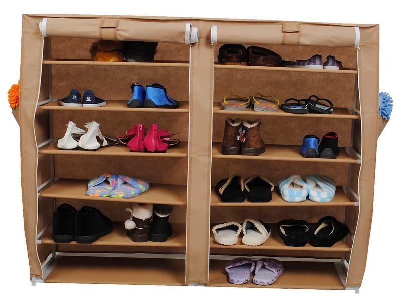 Contoh Model Rak Tempat Sepatu Dan Sandal Minimalis
