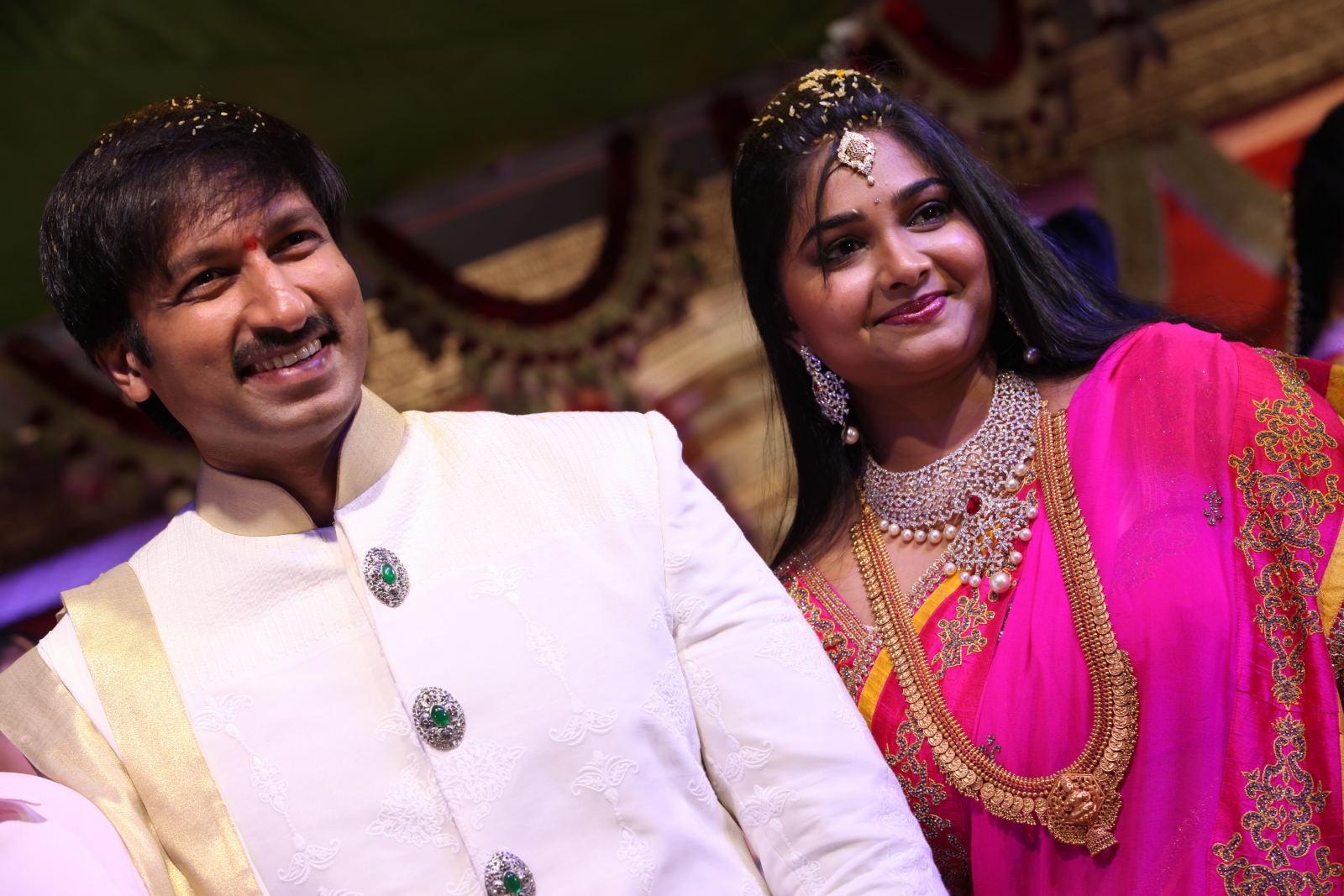 gopichand reshma marriage photos8