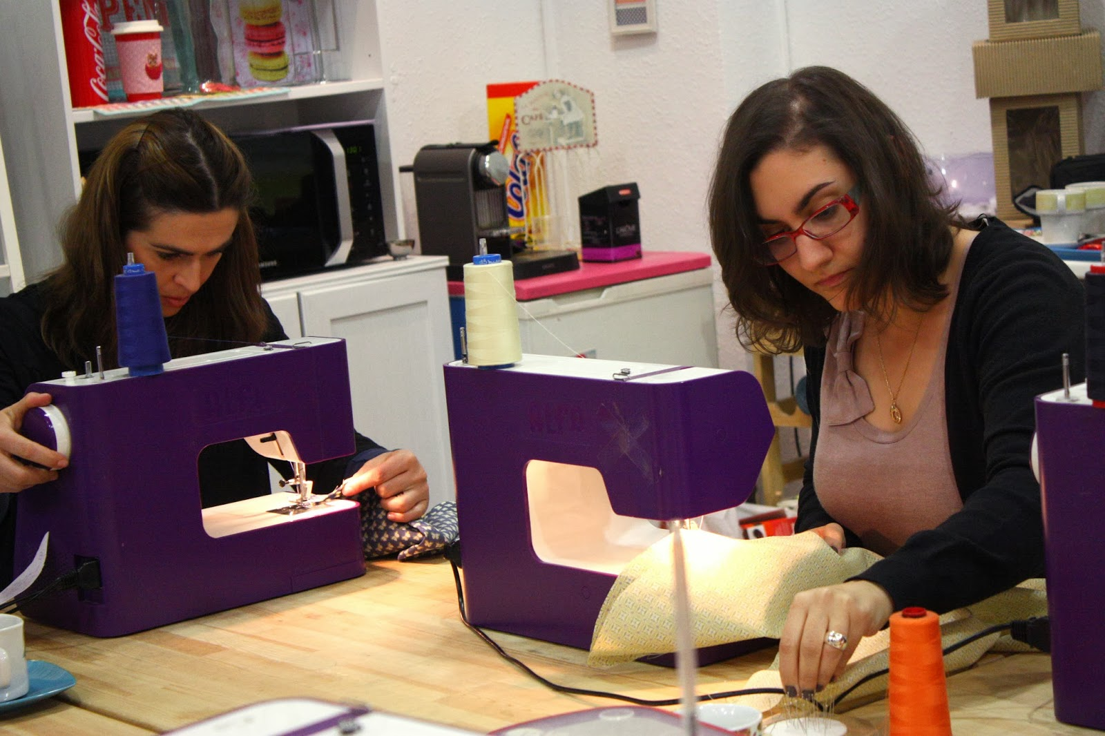 Taller ONE DAY TOP en sweet sixteen craft store Madrid