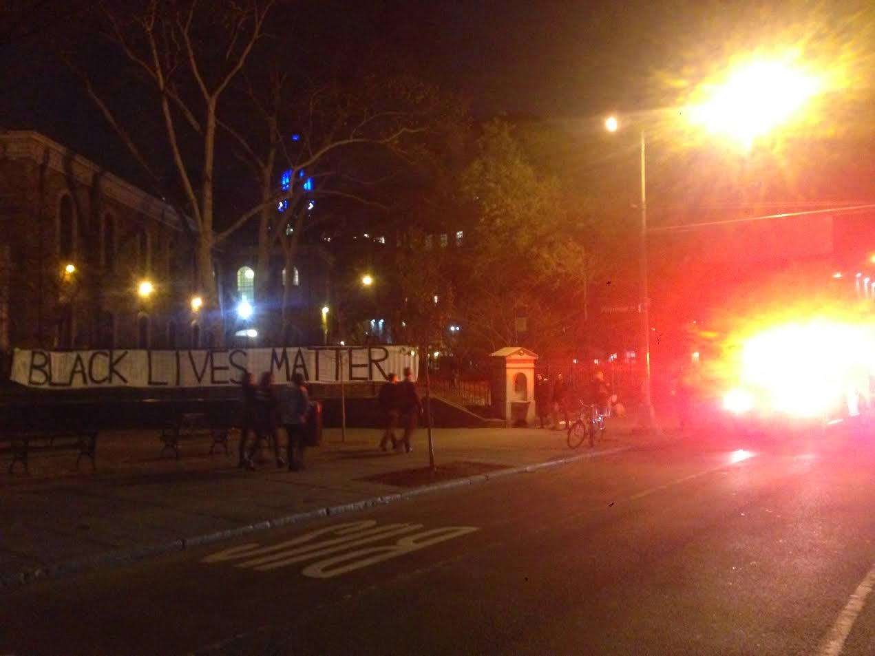 EV Grieve: Ferguson protests in the East Village and Lower East Side