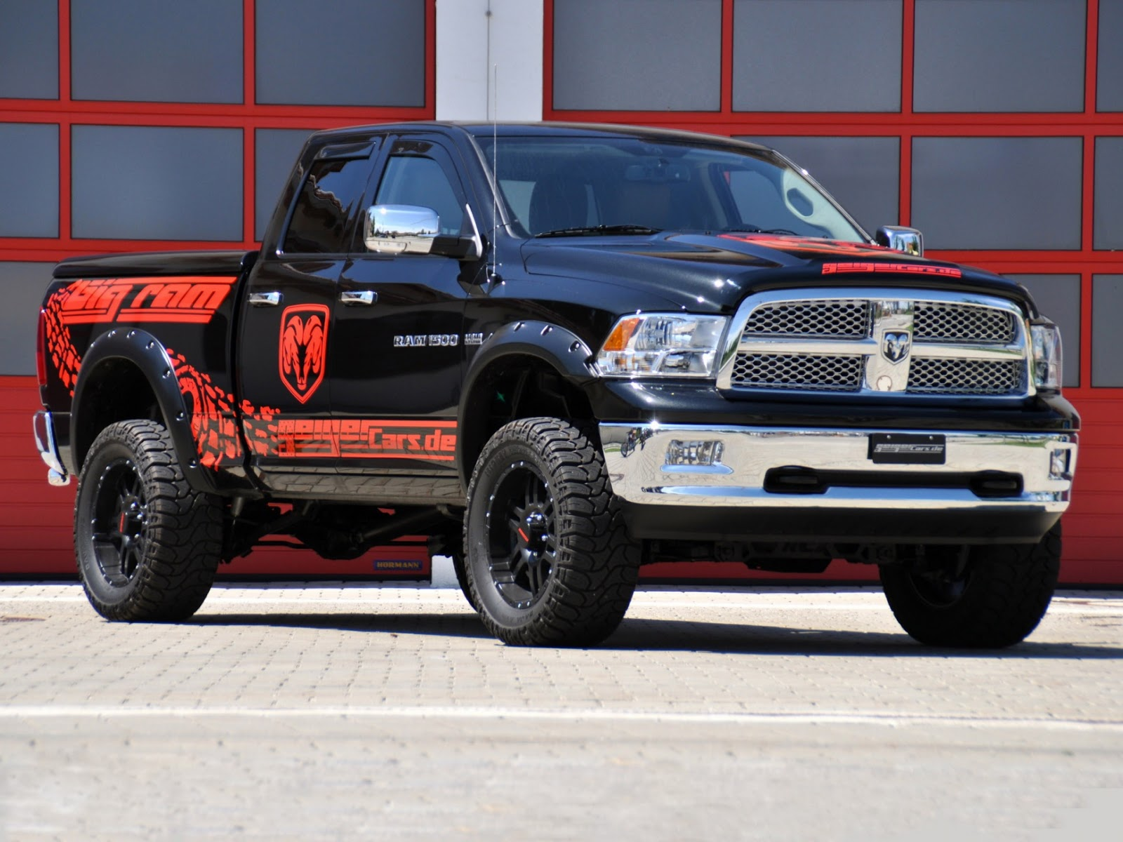all tuning cars nz dodge ram 1500 2012 by geigercars. Black Bedroom Furniture Sets. Home Design Ideas