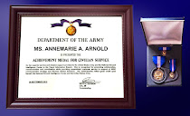 Dept. of the Army Medal for Civilian Service Award