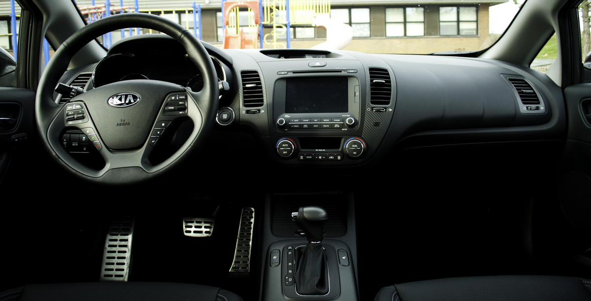 Good 2014 Kia Forte SX Interior