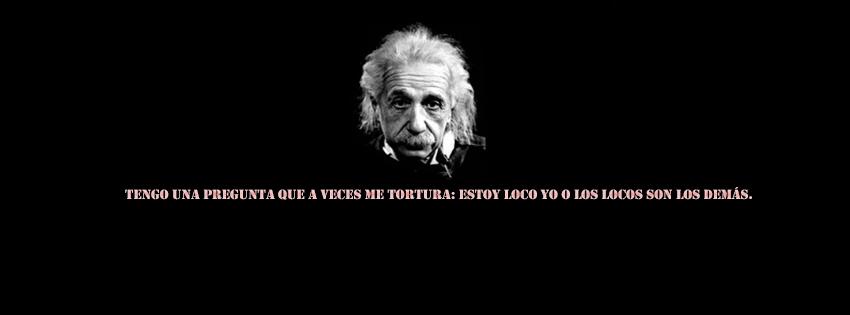 Imágenes con frases de Albert Einstein para portada de facebook ...