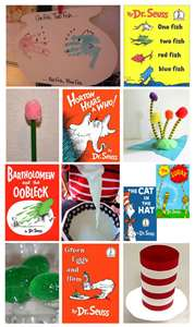 Craft Ideas Quotes on Happy Birthday Party March 2 Books Crafts Lessons Activities Quotes