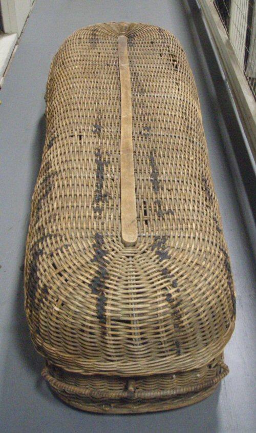 Woven Basket Casket : My paranormal experiences the body basket or wicker casket