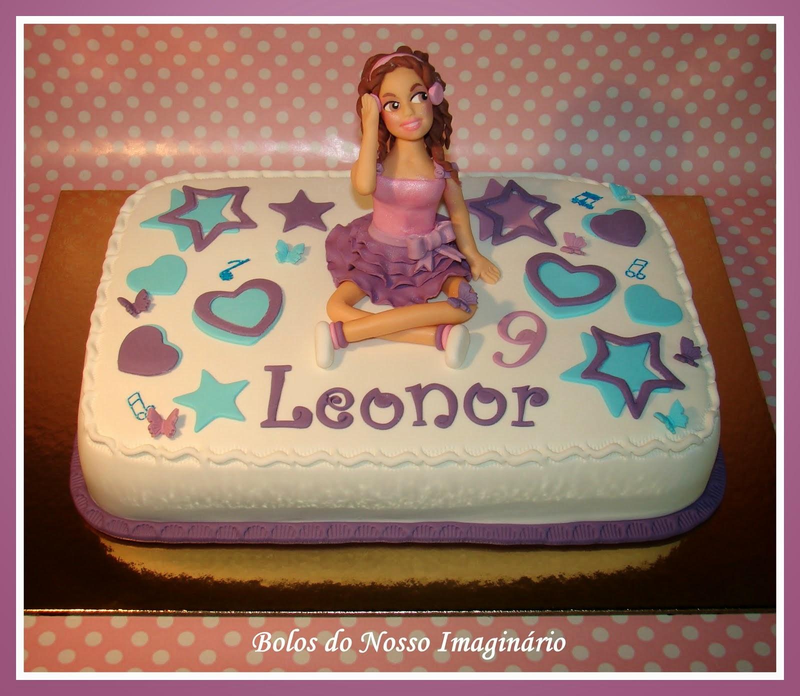 Bolo de Aniversário Violeta
