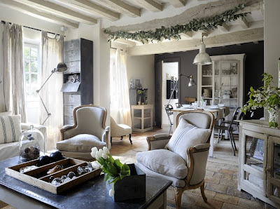 Shabby chic con amore casa shabby chic shabby chic on friday la cas - Meubles grange paris ...