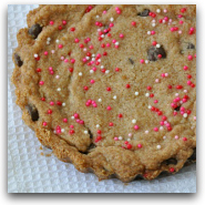 Whole Grain Chocolate Chip Shortbread Cookie