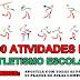 Material: TOP 100 atividades de Atletismo Escolar