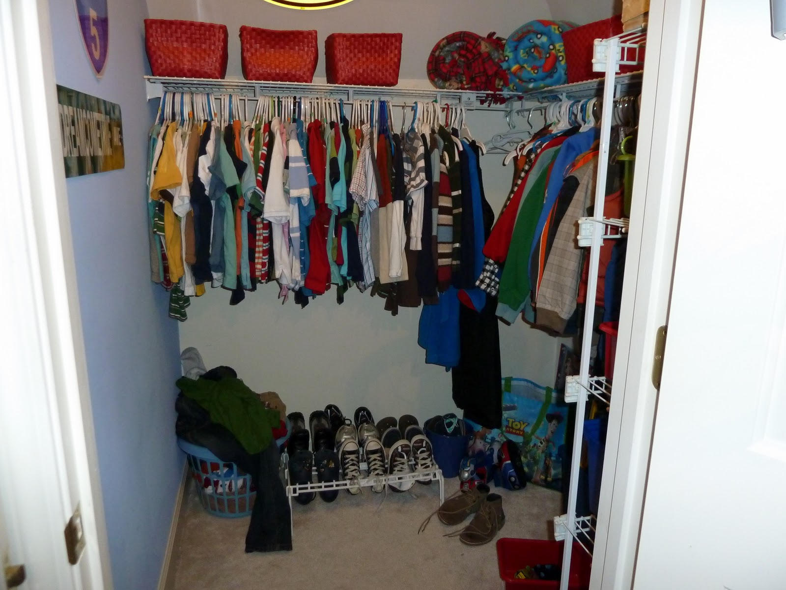 Our Fifth House: The Boy's Closet/ Play Nook