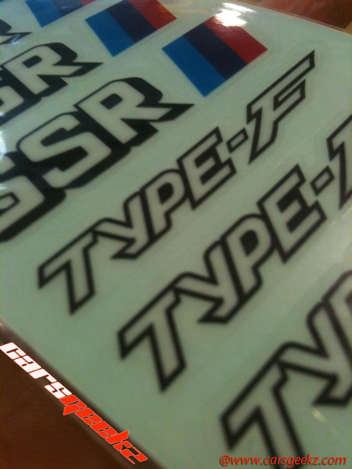 SSR TYPE F vinyl