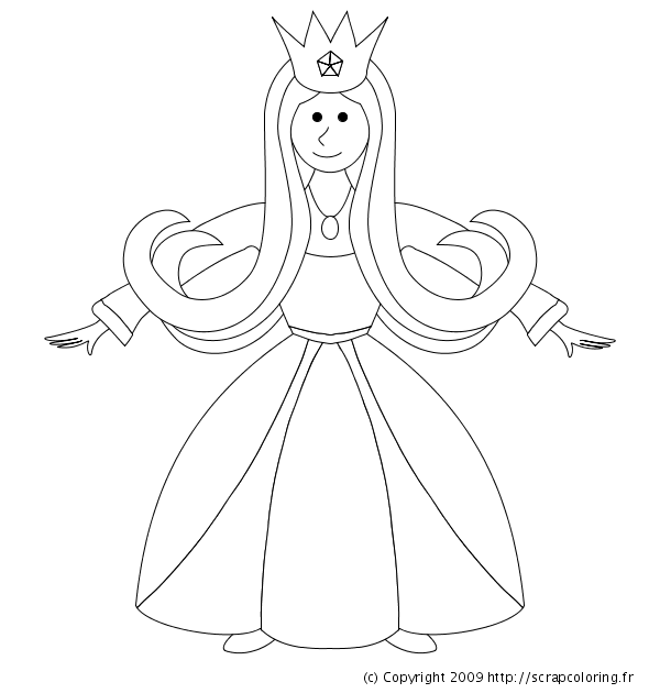 Coloriage animal mythologique mi lion mi licorne - Coloriage Princesse Licorne