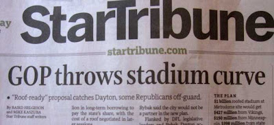 GOP throws stadium curve