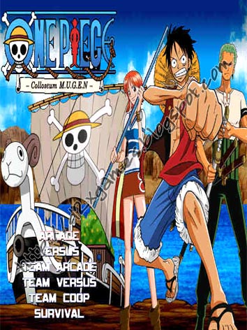 Free Download Games - One Piece Colloseum MUGEN