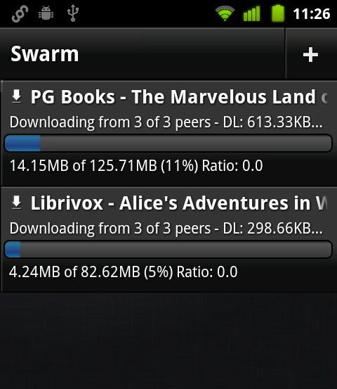 torrent doesnt download on android
