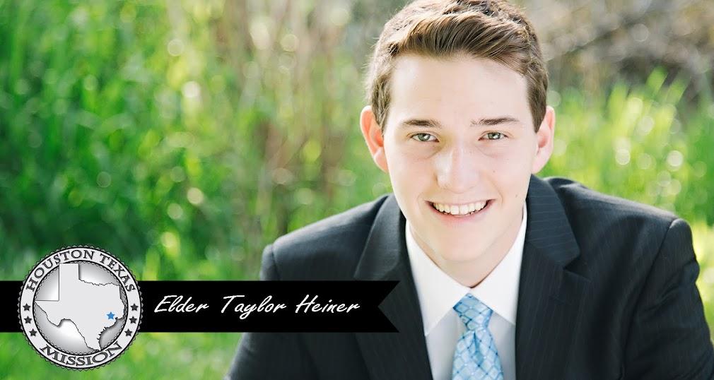 Elder Taylor Heiner
