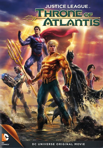 Justice League: Throne of Atlantis (BRRip 720p Dual Latino / Ingles) (2015)
