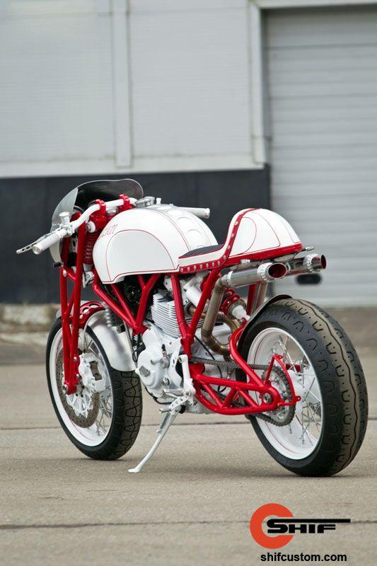 Racing Caf U00e8  Ducati Shifter By Shif Custom