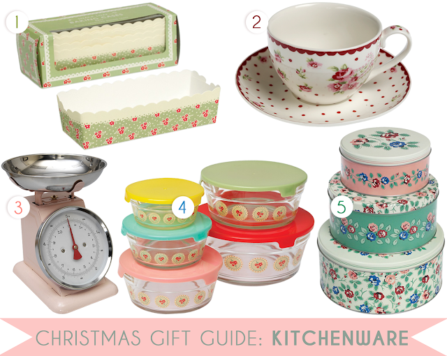 Christmas gift guide idea for mums, pretty kitchenware