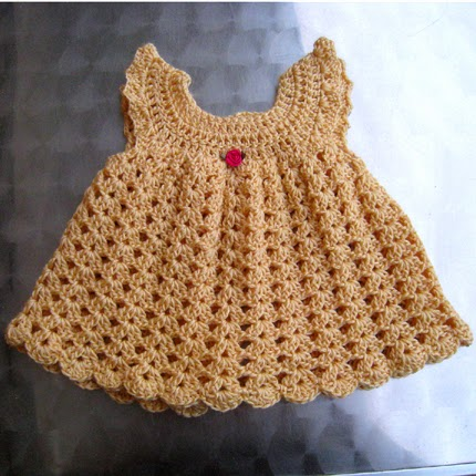 Angel Wings Pinafore - Free Pattern