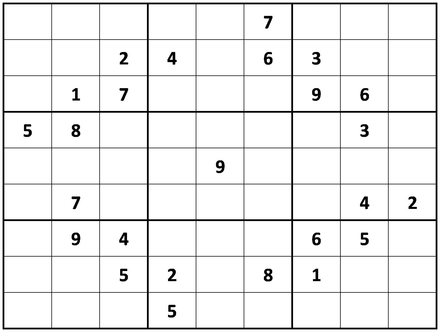 Resource image for difficult sudoku printable