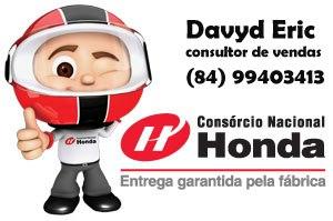 Davyd Eric - consultor de vendas