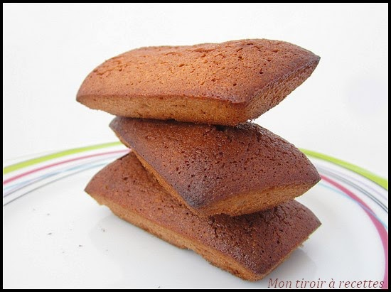 financiers à la pâte à tartiner