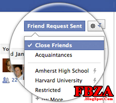 how to see hidden contacts in facebook
