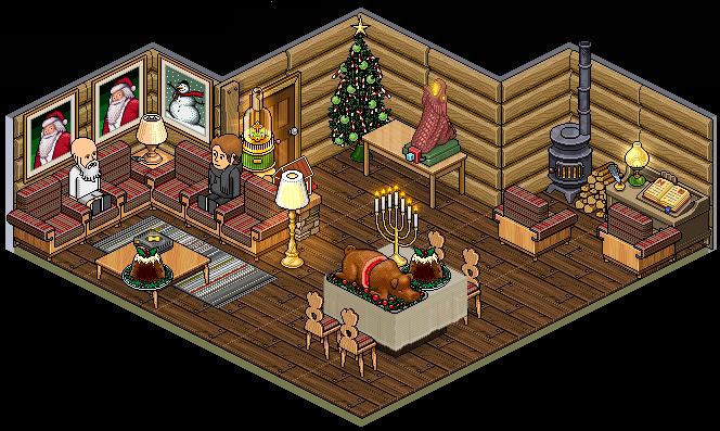 Baze gamer habbo hotel for Casas en habbo
