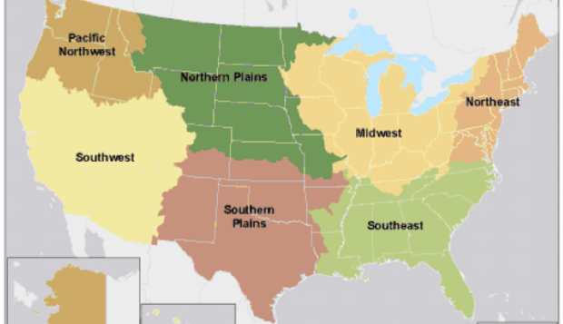 US Forest Service Climate Change Emphasis Area United States - Us forest service maps