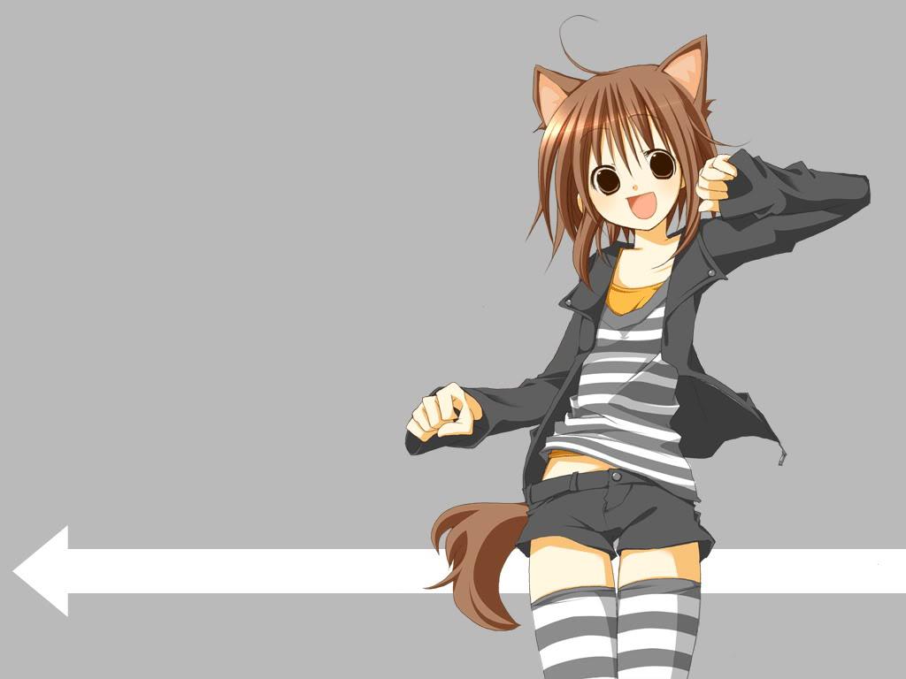 anime dog girl