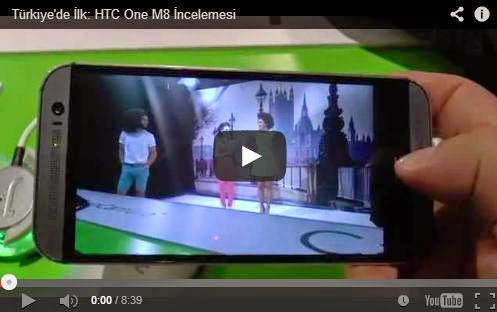 HTC One (M8) Video İnceleme