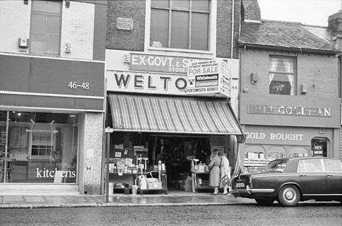 Remember Weltons in Fratton Road?
