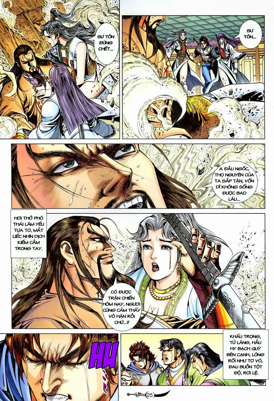 Đại Đường Song Long Truyện chap 250 - Trang 25