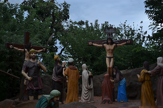 crucifixion of Christ at Garin farm