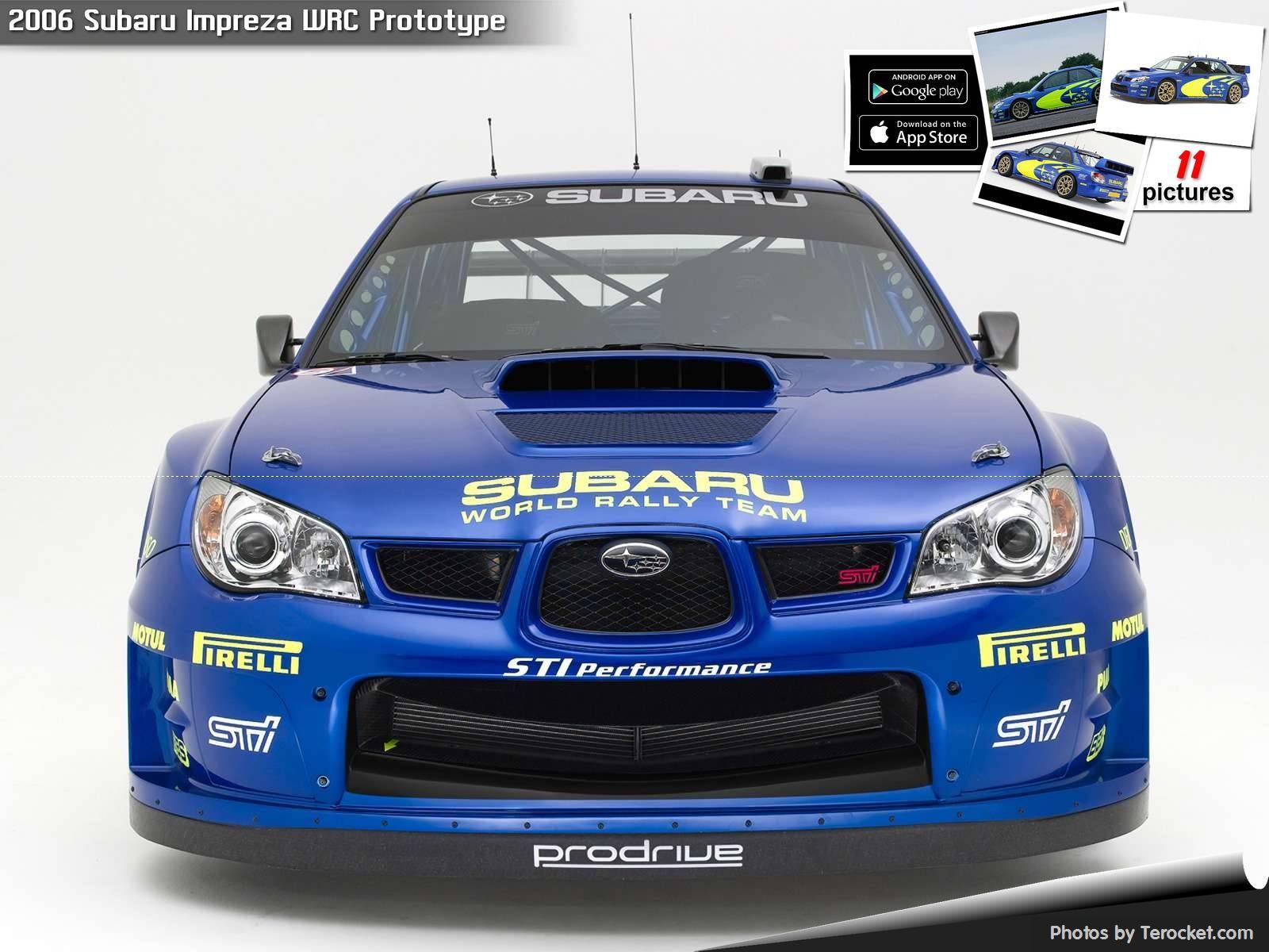 Hình ảnh xe ô tô Subaru Impreza WRC Prototype 2006 & nội ngoại thất