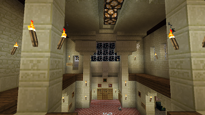 minecraft home hall