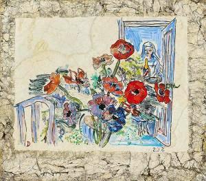 """Panneau en """"Lap"""" de Raoul Dufy"""