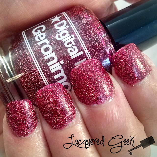 Digital Nails Geronimo nail polish swatch