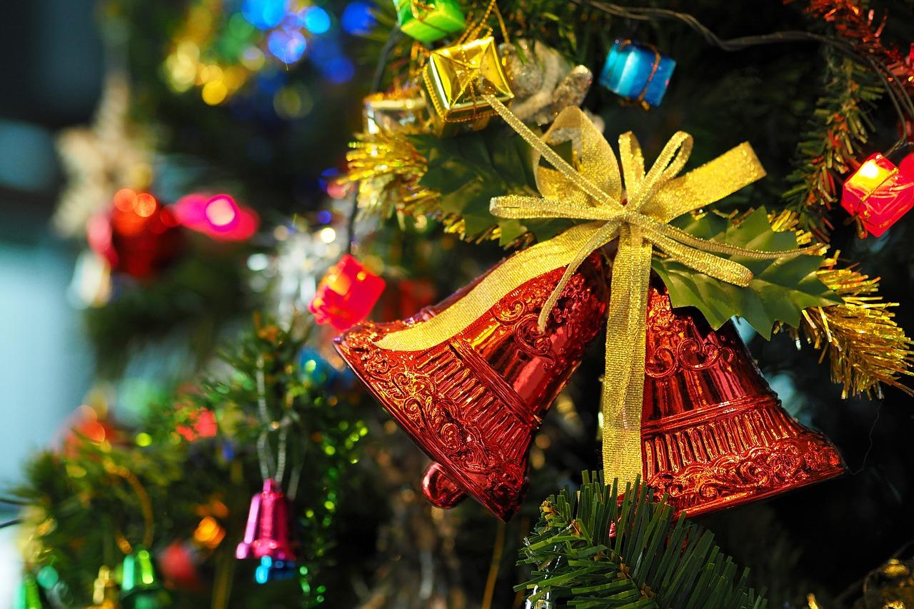 Christmas tree bell decoration-tinnitus-motherdistracted.co.uk
