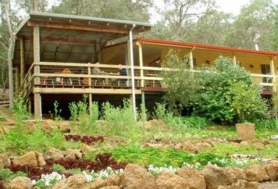 Organic herb gardens